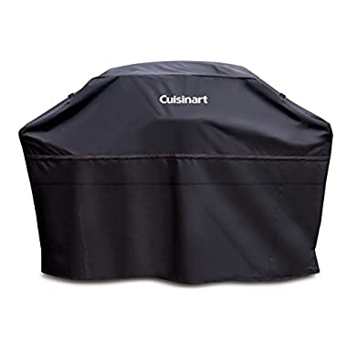Cuisinart CGC-60B Heavy-Duty Barbecue Grill Cover, 60 , Black, Cover-60