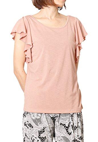 パネットワンpane(t)one トップス ヨガウェアGYMフレアスリーブTee2タイプTシャツ レディース バタフライT...