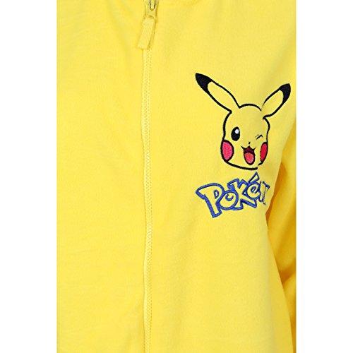 Pokemon Pikachu Ganzkörper Schlafanzug, Schlafoverall, Onesie, Einteiler - 3