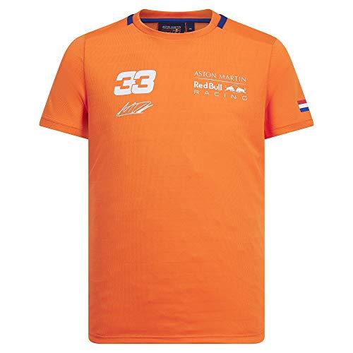 Aston Martin Red Bull Racing Max Verstappen Oranje 33 T-Shirt XL