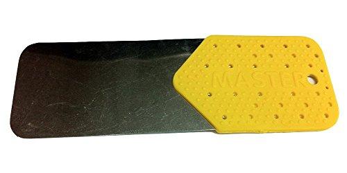 Tarjeta de apertura para puertas metalicas amarilla