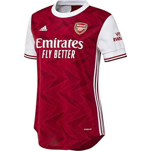 adidas 2020-2021 Arsenal Womens Home Football Soccer T-Shirt Jersey