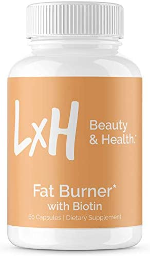 LxH Biotin Fat Burner Supports Healthy Weight Loss Appetite Suppressant with Biotin 5000mcg product image