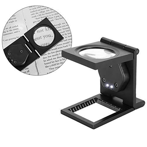 Mini Opvouwbare Vergrootglas - 30X Draagbare Pocket Loupe Vergrootglas voor Telefoon Computer Reparatie