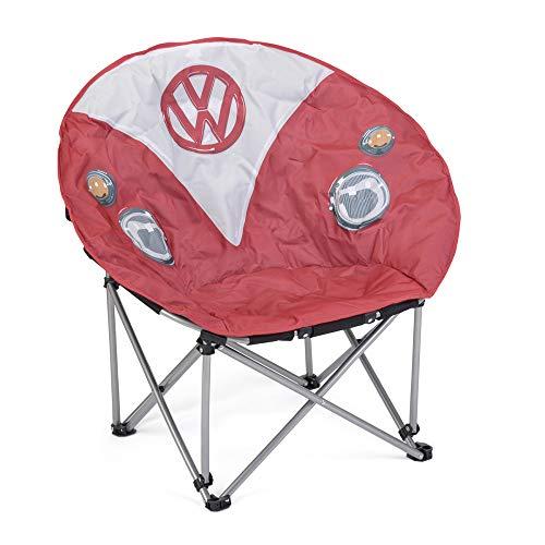 Volkswagen 1H1069635 Campingstuhl Bulli T1 Stuhl, rot/weiß
