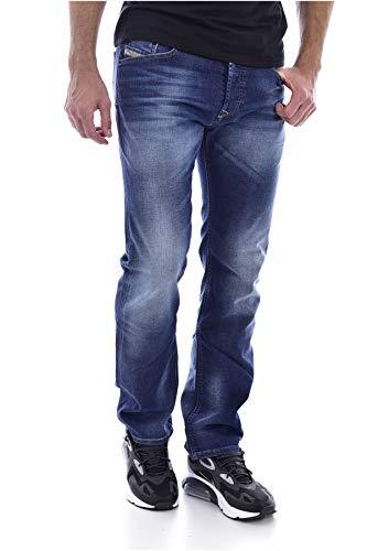 Diesel 084GR Vaqueros Straight, Azul (Denim), W34/L32(Tamaño del Fabricante:34) para Hombre
