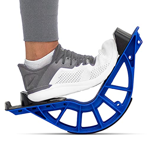 ProStretch Plus Customizable/Adjustable Calf Stretcher and Foot Rocker for Plantar Fasciitis, Achilles Tendonitis and Tight Calves, Made in USA