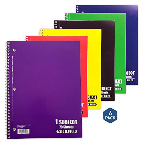 1 Book per Order Color May Vary 7 x  5 inches 77388-12 Norcom COLORZ Assignment Book 4 Assorted Colors