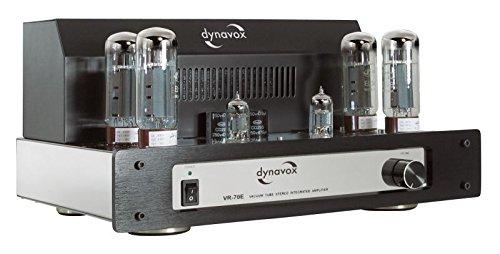Dynavox VR-70E II Röhrenvollverstärker chrom