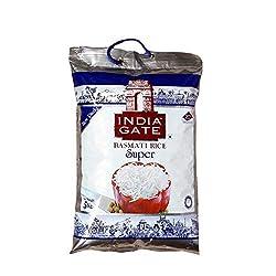 India Gate Basmati Rice Bag, Super, 5kg