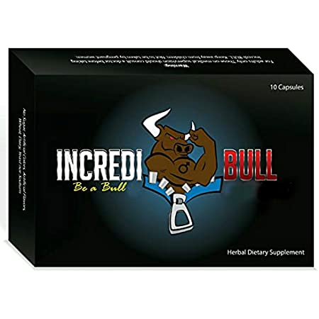 INCREDIBULL Male Performance Amplifier that Delivers Endurance and Recovery!