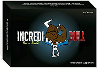 INCREDIBULL ~ Male Performance Amplifier that Removes Performance Anxiety
