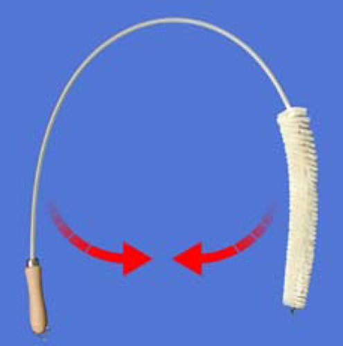 Heizkörperbürste für Flachheizkörper - INTERINNOV©