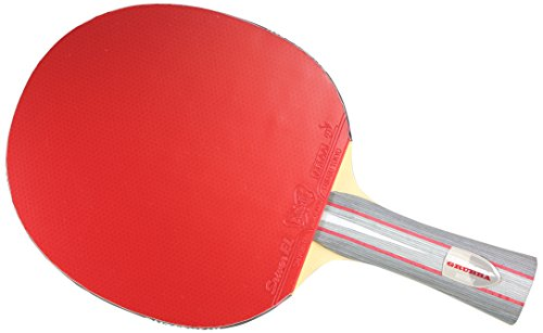 Buy Butterfly Andrzej Grubba Blade with Sriver EL 2.1 Rubbers Pro-Line Table Tennis Racket, FL Handl...