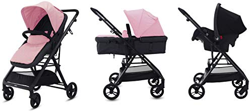Play Country - Cochecito convertible en capazo, rosa