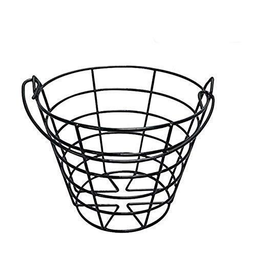 Kofull Golfball-Eimer, Metallkorb, haltbarer Golfkorb, Ballbehälter, Aufbewahrung von 50 Bällen
