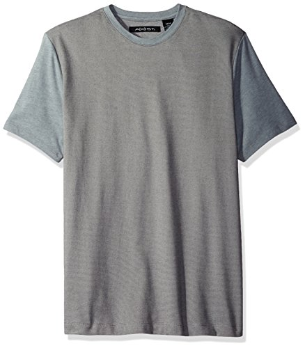 AXIST Men's Short Sleeve End T-Shirt, Smoke Heather, Small