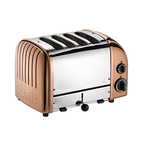 Dualit 47390 Classic New Gen Vario 4 Toaster, kupfer
