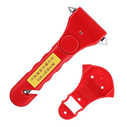 Mini Noodhulp Auto Veiligheid Hamer, Multi-Functie Stoel Riem Snijmachine Overleving Gereedschap Noodgeval Gebroken Raam Hamer 2 in 1