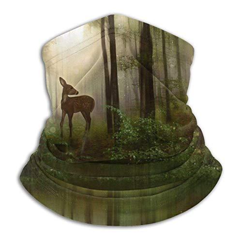 BXYJSHL Calentador de cuello de ciervo para bebé, cubierta de cara, antipolvo, viento, UV, cuello solar, bufanda, pañuelo