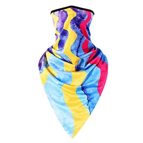 Crème solaire bandanas foulard masque masque extérieur serre-tête serre-tête serre-tête-A12