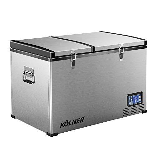 Kolner 80L Portable Fridge Cooler Freezer Camping Car Travel Refrigerator