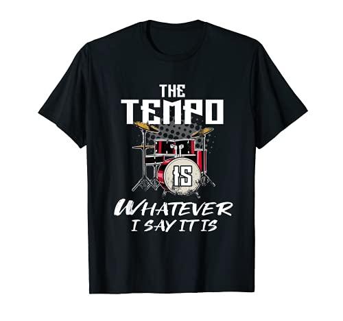 Regalo de Tempo de Batería Camiseta