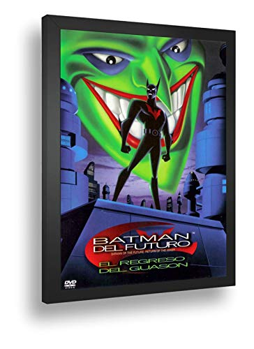 Quadro Decorativo Poste Dc Comics Batman Do Futuro Retro