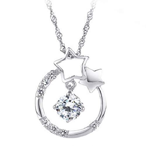 jieGorge Fashion Jewelry Charm Silver Plated Pendant Hollow Necklace Elegant Retro , Necklaces & Pendants , Products for Christmas