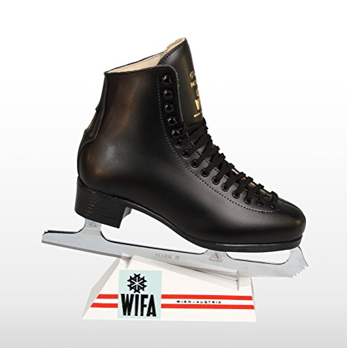 WIFA Eislaufschuhe Prima Hobby Schwarz Herren (40)