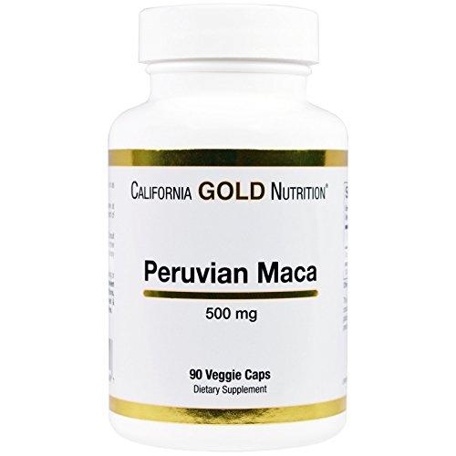 California Gold Nutrition, Peruvian Maca, Organic Root 500 mg, 90 Veggie Caps, Milk-Free, Fish Free, Gluten-Free, Peanut Free, Treenut Free, Shellfish Free, Soy-Free, Vegetarian, Wheat-Free, CGN