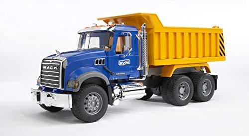 Bruder 02815 - Camión con volquete Mack , color/modelo surtido