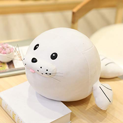 HYTR Fat Super Soft Kawaii Seal Plush Toys Pillow Cushion Kids Toys for Children Birthday Gifts