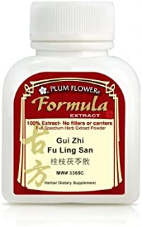 Gui Zhi Fu Ling San,5:1 Extract Powder 3 Grams, 3 X Day or 4-5 Grams 2 X Day & Cinnamon and Poria Formula&plum Flower® 100 G/bt