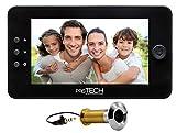 prsTECH DoorCAM DC1 PLUS Wide Screen, Digitaler-Türspion 4,3 Zoll LCD Display für Türstärken von 38-110mm