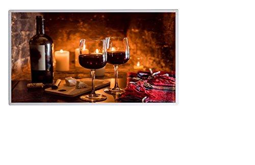 Weihnachtsaktion Bildheizung im Shop Infrarot Heizung 600 Watt Wein  Käse Fern Bild 5*