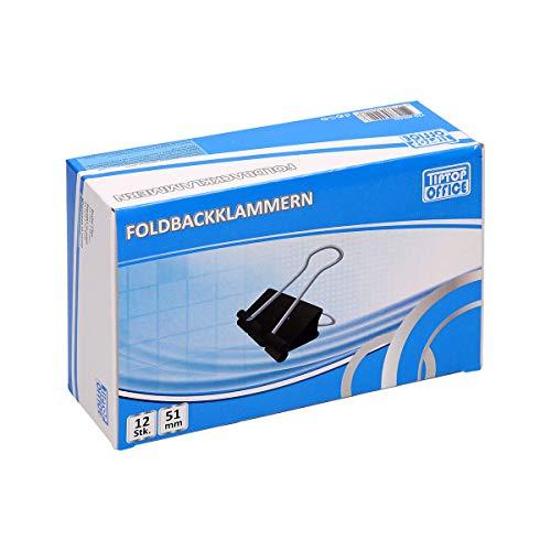 TIPTOP OFFICE TTO Foldbackklammern 51mm, 12/1