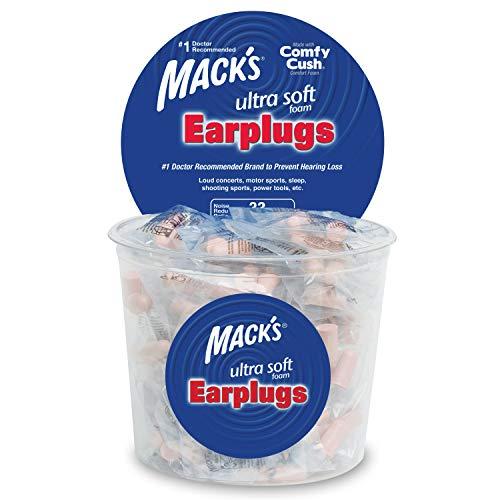 Mack's Ultra Ear Plugs (100 Pair) - Beige