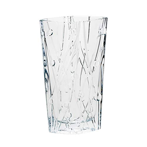 Vaso De Cristal Ecológico Labyrinth 10x20x35, 5cm Bohemia Cristal