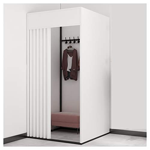 Probador Sala de refugios de privacidad, Pop Up POD Cambiando la tienda de privacidad, tienda de ducha al aire libre portátil, para refugio de lluvia para camping y playa, fácil configuración, franela
