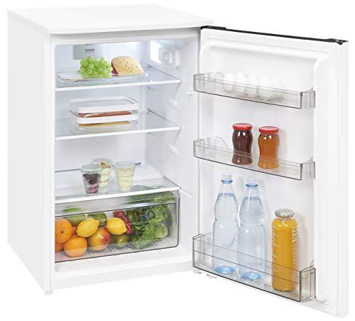 Exquisit Kühlschrank KS 15-4 RVA+++ |Standgerät | 124 L Nutzinhalt | weiß