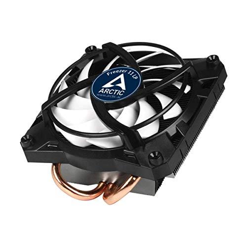 ARCTIC Freezer 11 LP - Enfriador Intel CPU 1200, 1156, 1155, 1151, 1150, 775, silencioso, 100 mm PWM, MX-4 preaplicado, Congelador - Negro