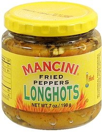 Mancini Fried Longhot Peppers 7 Oz., Pack of 12