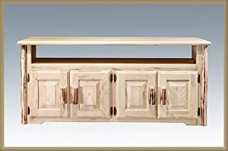 Montana Woodworks Montana Collection Television Stand, Ready to Finish