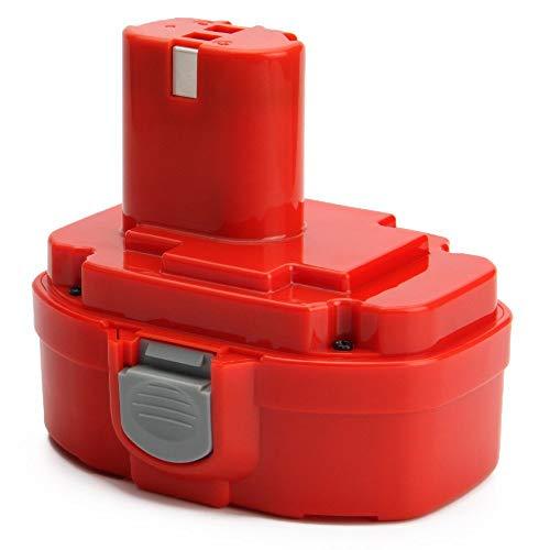 Dosctt Reemplazo para Makita PA18 18V 3.0Ah Ni-MH Atornillador Batería de Repuesto 1822 1823 1834 1835 192826-5 192827-3 192829-9 193159-1 193140-2 193102-0 194105-7