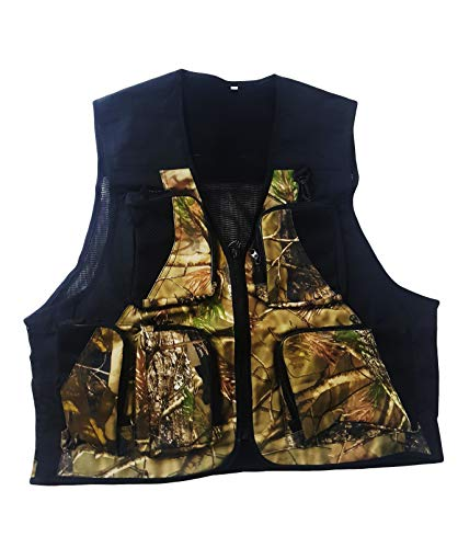 takestop® Vest voor mannen mannen Camouflage Multi 5 zakken ademend ademend fotografie Slim Multifunctionele