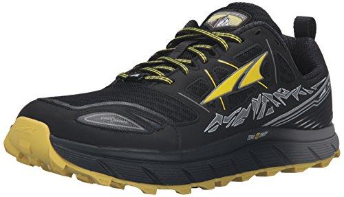 ALTRA Men's Lone Peak 3 Running Shoe, Black/Yellow, 12.5 M US