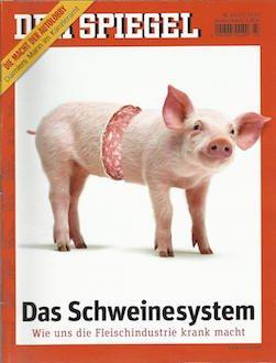 Der Spiegel 2013-43 Das Schweinesystem - Wie uns die Fleischindustrie krank macht