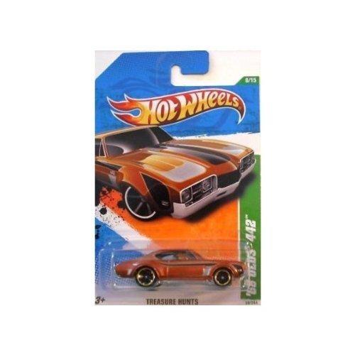 Hot Wheels Treasure Hunts 2011 '68 Olds 442 Brown Car 8/15