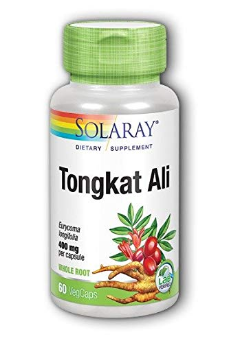 Tongkat Ali (400 mg) Solaray 60 VCaps
